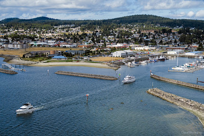 Anacortes, Washington from  the Cap Sante Headland