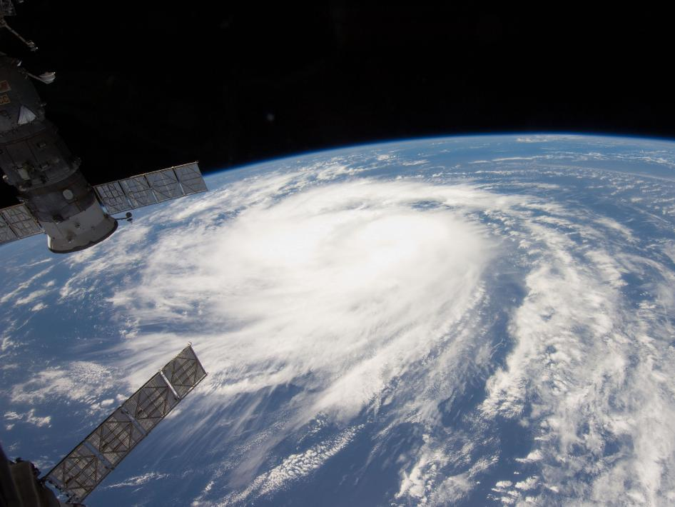 Hurricane Katia From Space by NASA/ISS