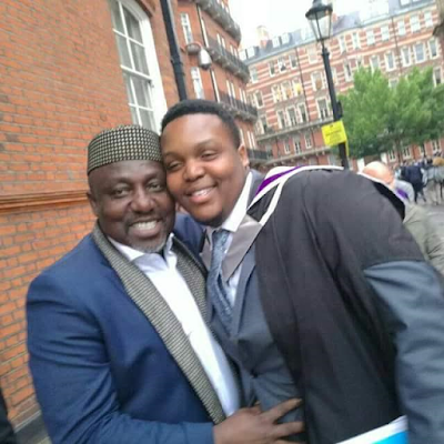 Gov. Rochas Okorocha's First Son Afamefula Bags Masters Degree From Imperial College London 1