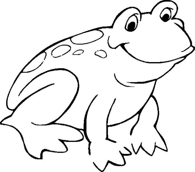 Kids Coloring Pages Frogprintablecoloring Pages
