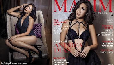 Andrea Dian Majalah Maxim Dewasa