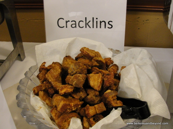 cracklins at Southern Spice restaurant in Lake Charles, LA