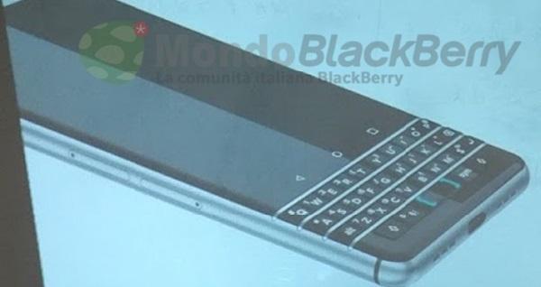 Bật mí Smartphone có bàn phím vật lý mới của BlackBerry