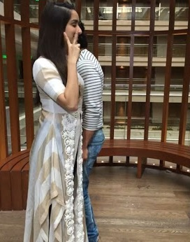 Shraddha Wore a Padmasitaa Western Outfit for the Promotions