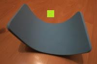 Matte Rückseite: KYLIN SPORT Bauchtrainer Ab Roller Bauchmuskeltrainer Dual Wheel Ab-Wheel mit Knie Pad
