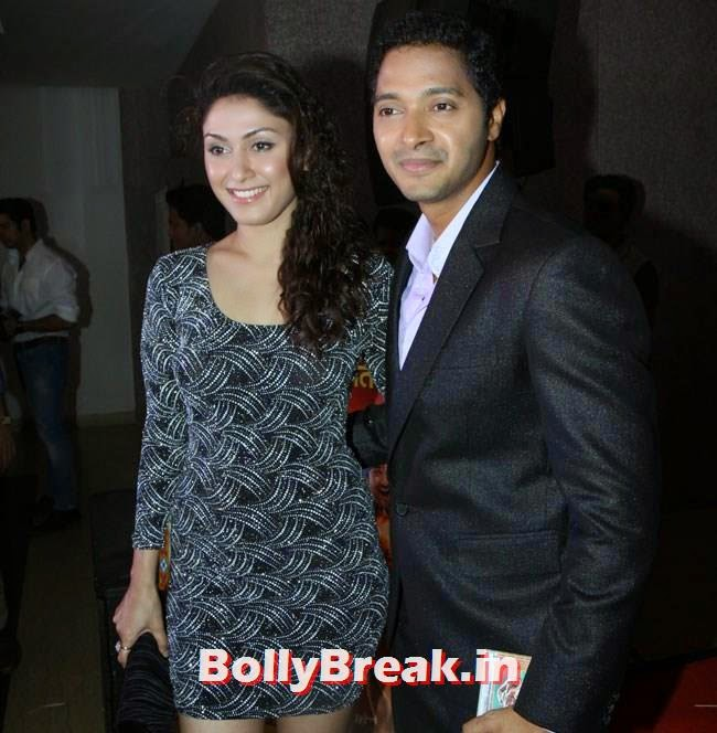 Manjari Phadnis and Shreyas Talpade, Marathi Actress Pics from Poshter Boyz 2014 Marathi Movie Music Launch