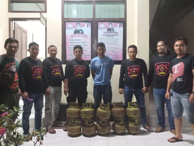 Spesialis Pencuri Tabung Gas Diciduk Polisi