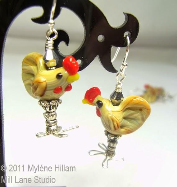Chook earrings