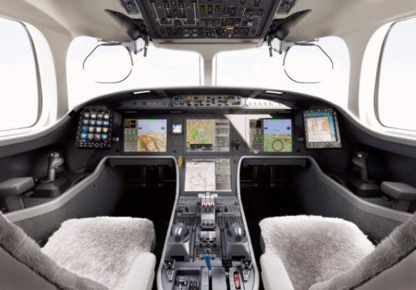 Dassault Falcon 6X cockpit