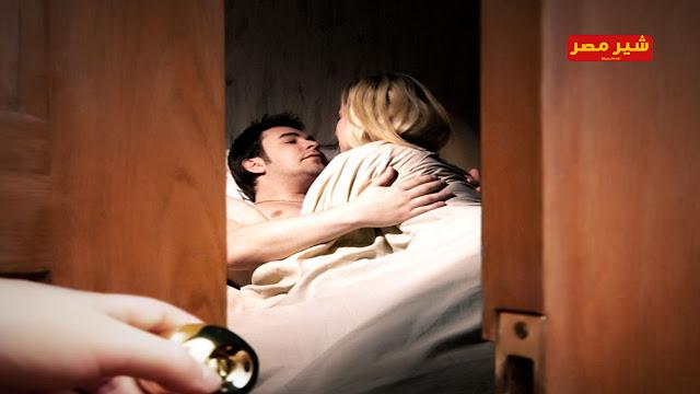 الخيانة الزوجية   الزوج فوق السرير والعاشق اسفل السرير........ حادث مروع