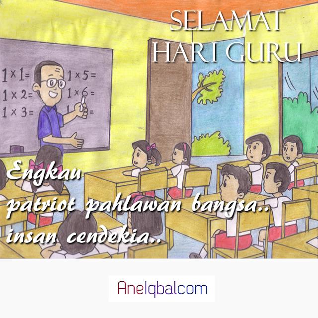 Poster Hari Guru Nasional