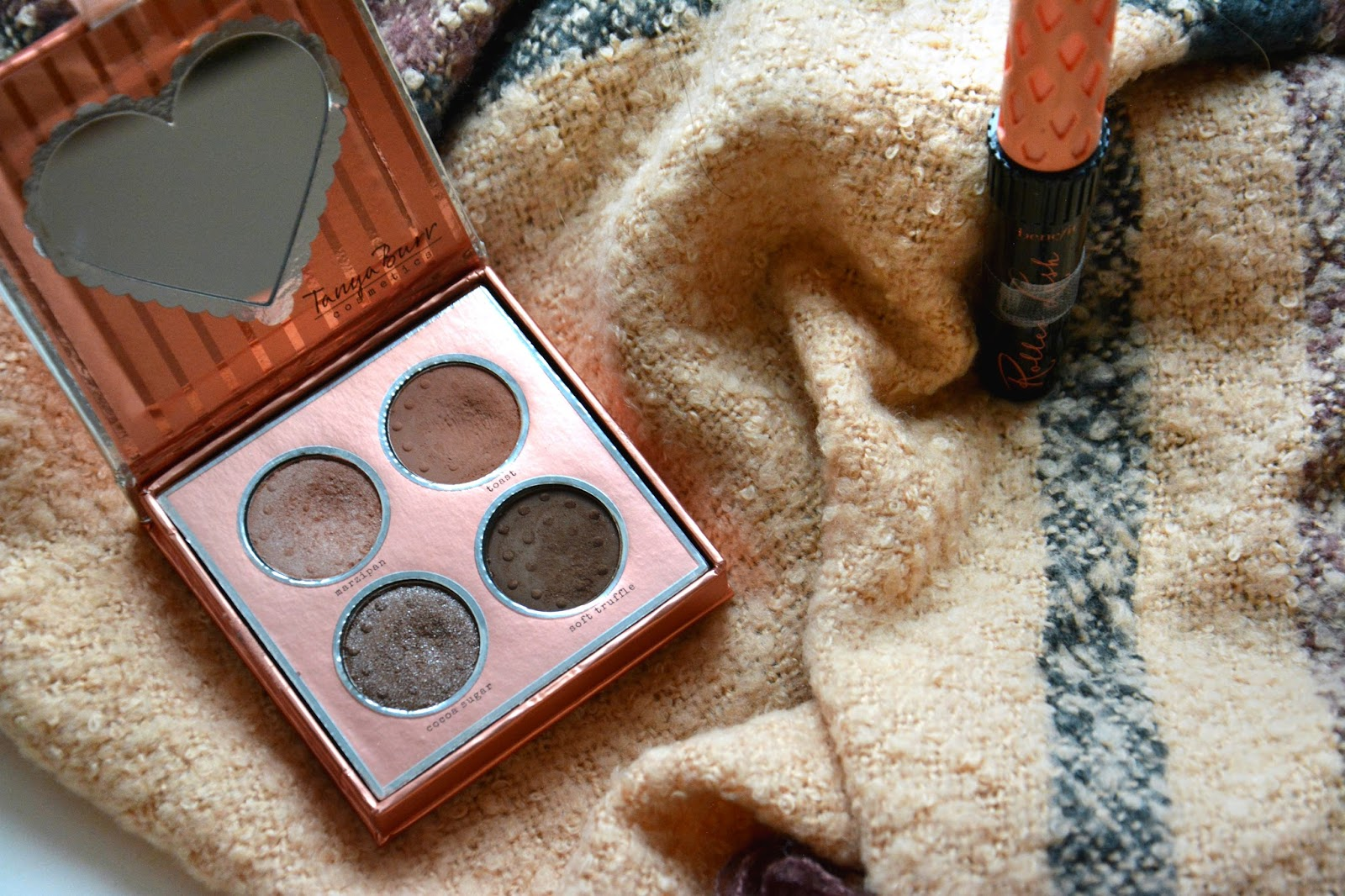 Tanya Burr Cosmetics Birthday Suit Eye Palette, Benefit Rollerlash Mascara