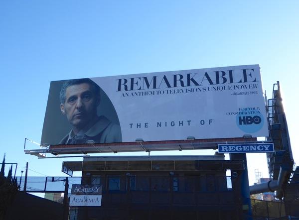 Night Of Remarkable consideration billboard
