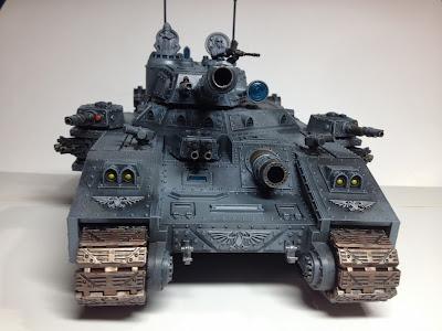 Death Korps of Krieg Baneblade WIP