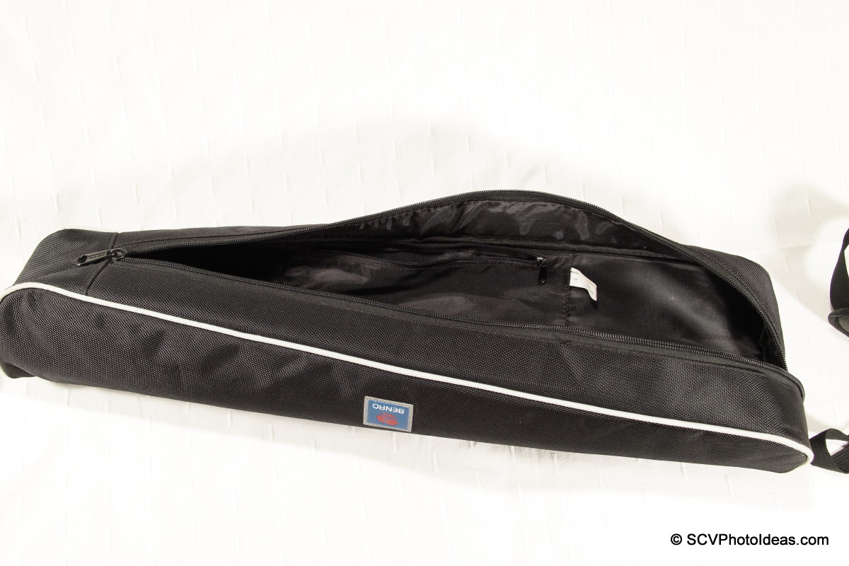 Benro A-298EX carrying case interior