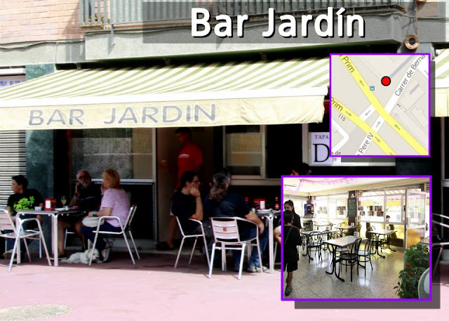 Bar jard n cub aut ntic a barcelona for Bar jardin barcelona