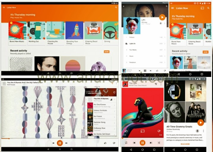 my favourite best Top 10 music player fopr android smartphone