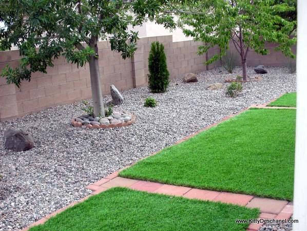 faux grass idea