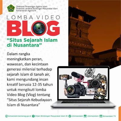 Lomba Vlog Situs Sejarah Islam di Nusantara Oleh Kemenag