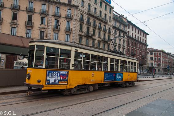 10+1 visitas imprescibdibles de Milan. Tranvia de Milan