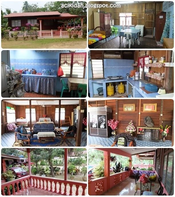 Rumah kampung di Kampung Raja, Pagoh