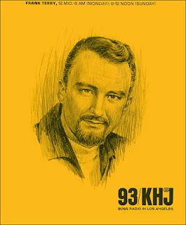 KHJ Boss Jock Frank Terry Portrait