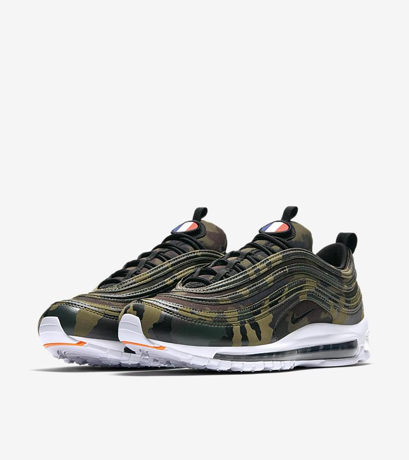 chaussures de sport f43a7 15d87 A l'aise dans vos baskets: Nike Air Max 97 Camo France