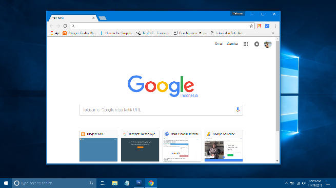 Google Chrome Error  Not Working di Windows 10