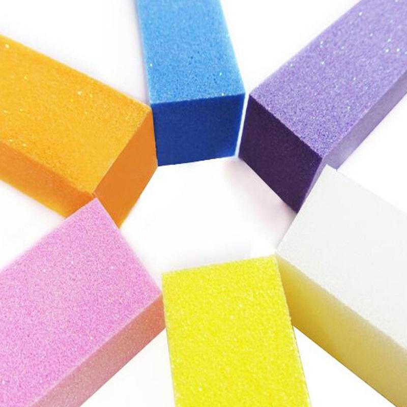10pcs/lot Nail Art Buffing Block Pedicure Manicure Buffing Sanding ...