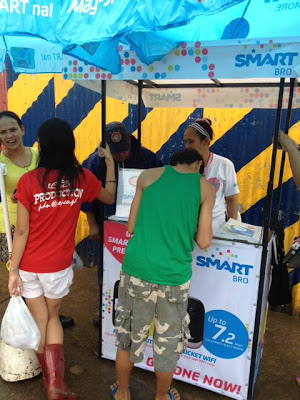 Smart sets up Libreng Tawag station for Habagat affected areas