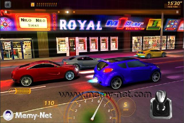 لعبة Drag Racing MOD مهكرة فلوس