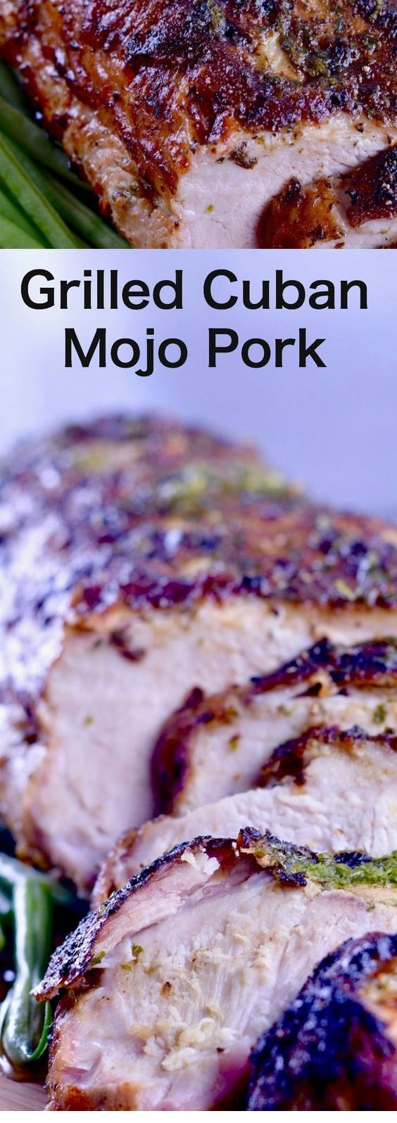 Grilled Cuban Mojo Pork Roast