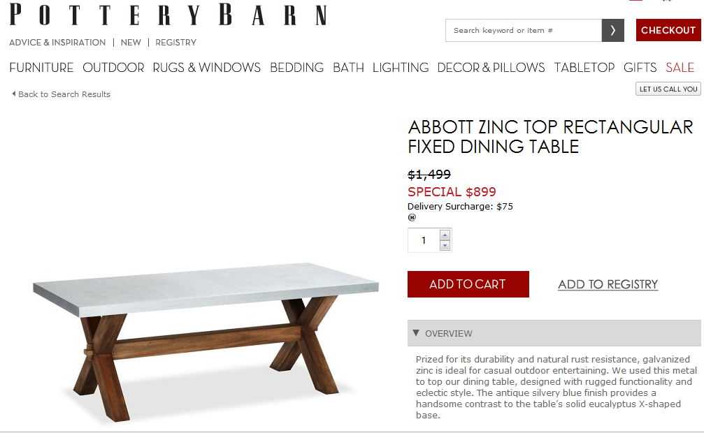 Awe Inspiring Pottery Barn Picnic Table Download Free Architecture Designs Ponolprimenicaraguapropertycom