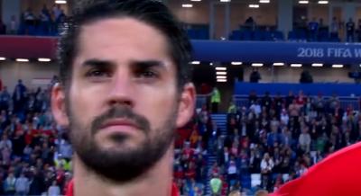 إيسكو لاعب المنتخب الإسبانى لكرة القدم
