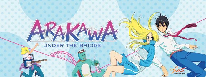 جميع حلقات انمي Arakawa Under the Bridge مترجم