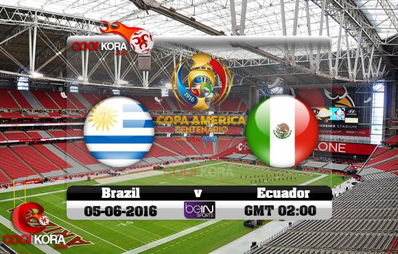 مشاهدة مباراة أوروجواي والمكسيك اليوم 6-6-2016 كوبا أمريكا