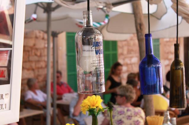 handgerfertigte Lampen auf Mallorca