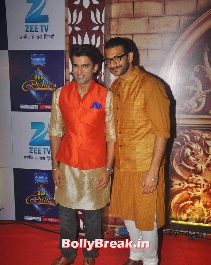 Mohit Malik, Zee Rishtey Awards 2014 Photo Gallery