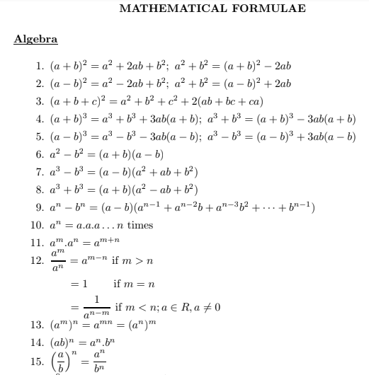 [Latest*] All Math Formula PDF In Hindi Download ...