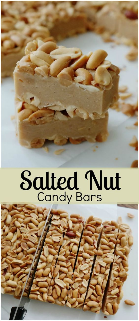 SALTED NUT CANDY BARS