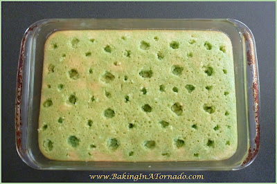 Lemon Lime Poke Cake | www.BakingInATornado.com | #recipe #dessert #cake