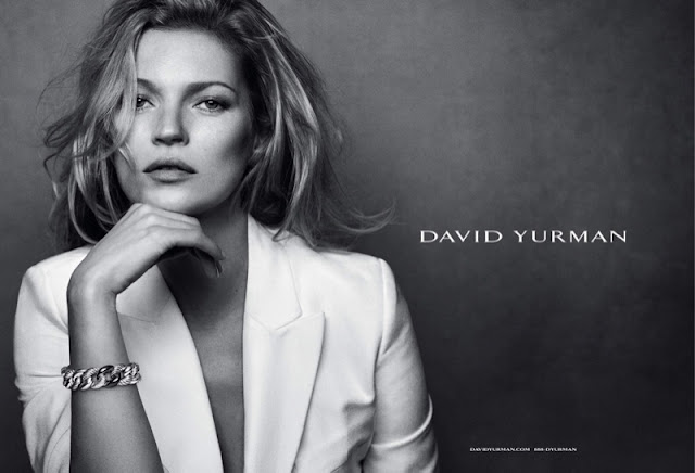 Kate Moss stars in David Yurman's Fall 2015 Ad Campaign