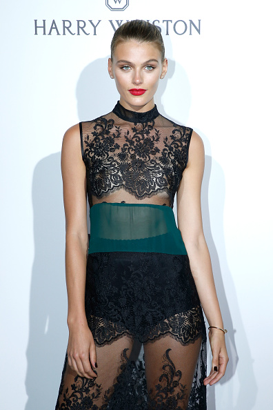Madison Heardick Black Lace Dress