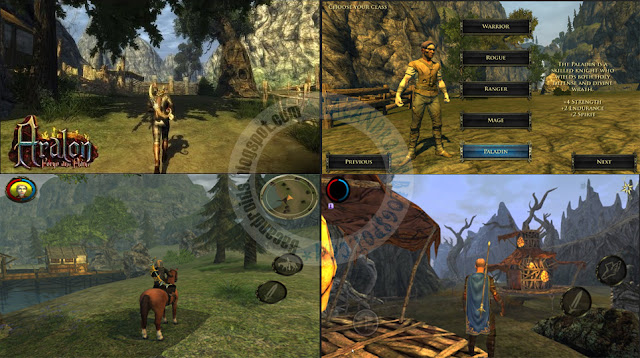 Aralon Forge And Flame Apk Dta Obb terbaru v2.4 Mod Free