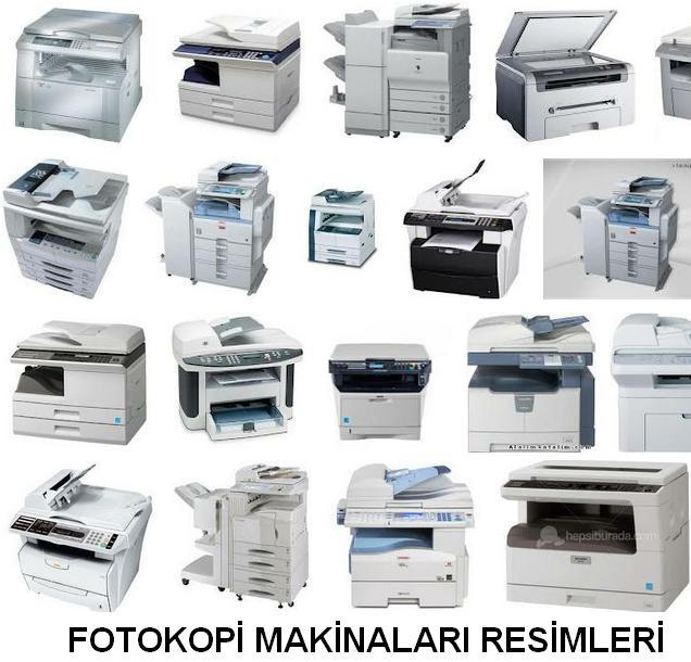 Fotokopi makinaları modelleri ve fiyatları renkli Fotokopi makinası