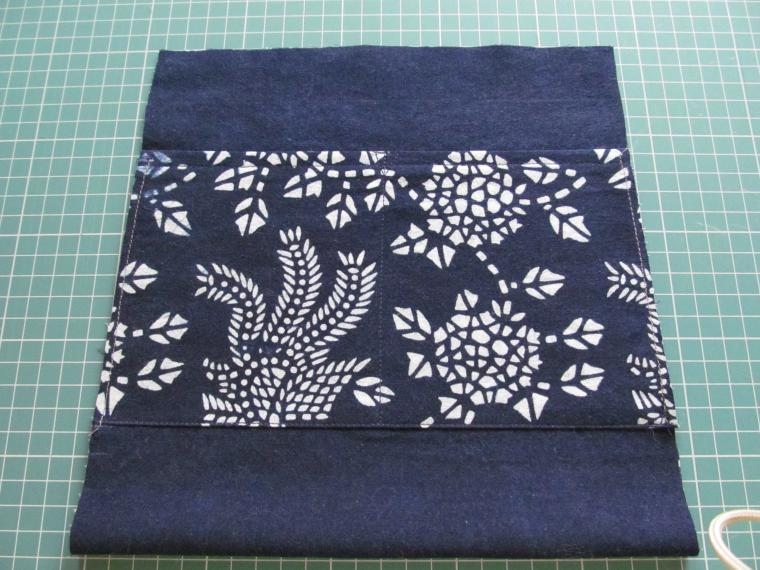 Japanese Boro Denim Tote Bag. DIY step-by-step tutorial with pictures. .