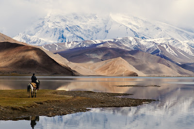 Panorama Karakul Lake