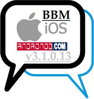 BBM Mod Like iOS v3.1.0.13 Apk Full Version