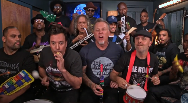 metallica jimmy fallon