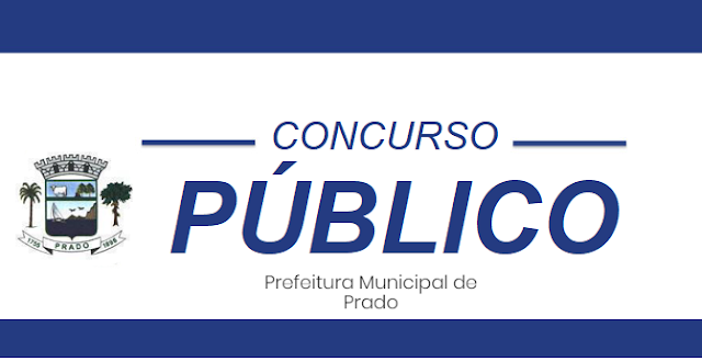 Concurso Prefeitura Municipal de Prado 2019